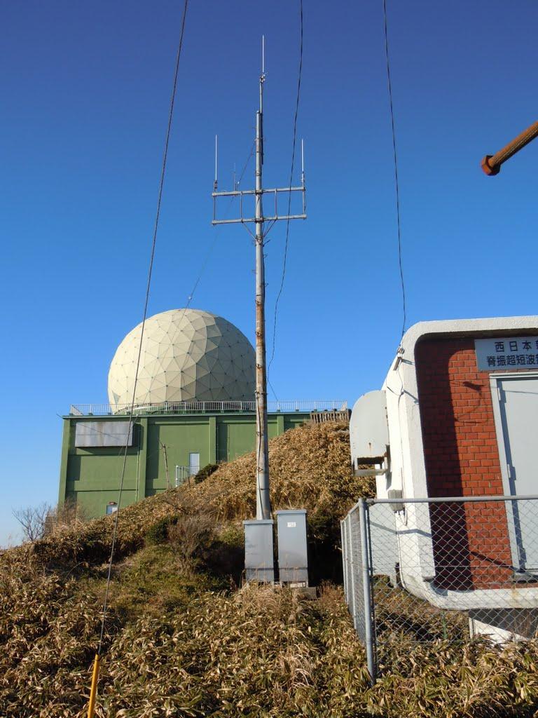 アマチュア無線機中継局(JP6YEH)背振山レピーター